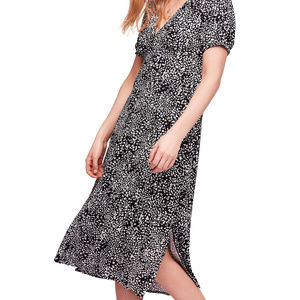 SALE NWT FREE PEOPLE LOOKING FOR LOVE MIDI DRESS
